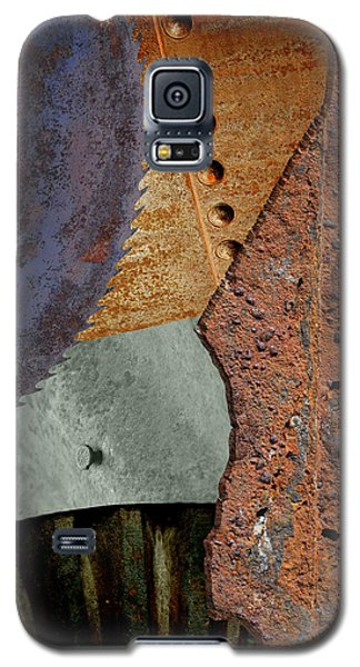 Steel Collage Galaxy S5 Case