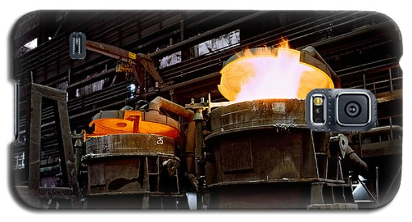 Steel Industry In Smederevo. Serbia Galaxy S5 Case by Juan Carlos Ferro Duque