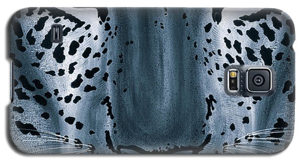 Steel Leopard Galaxy S5 Case