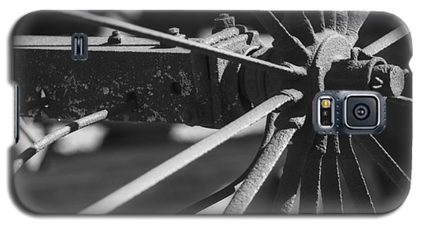 Galaxy S5 Case featuring the photograph Steel Wagon Wheel by JRP Photography