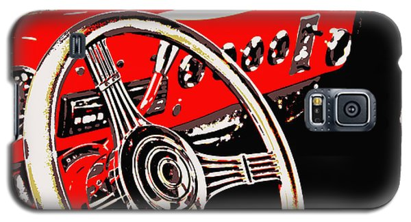 Steering Wheel Galaxy S5 Case by Elizabeth Budd