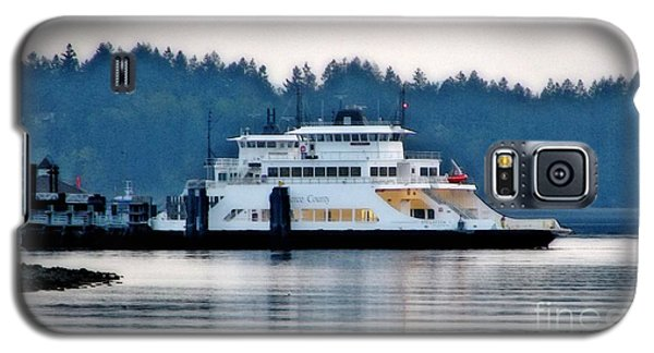 Steilacoom Ferry At Dusk Galaxy S5 Case by Chris Anderson