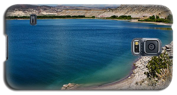 Galaxy S5 Case featuring the photograph Steinacker Reservoir Utah by Janice Rae Pariza