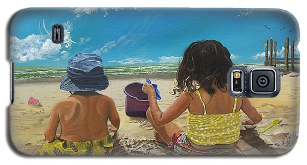 Stella And Sal Galaxy S5 Case by Kevin F Heuman