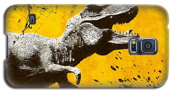 Stencil Trex Galaxy S5 Case by Pixel Chimp