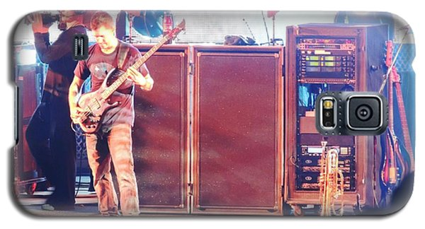 Galaxy S5 Case featuring the photograph Stephan The Bass Player by Aaron Martens