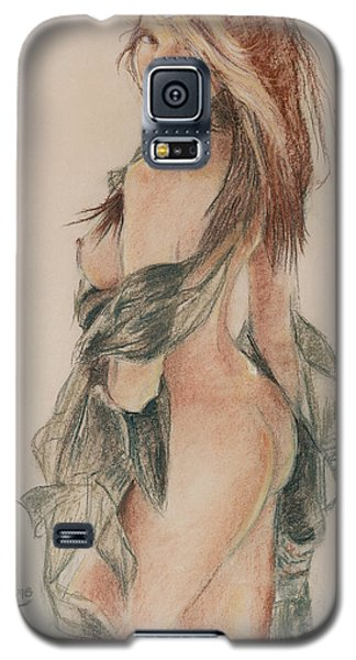 Standing Nude 1 Galaxy S5 Case