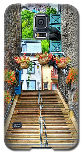 Steps Of Old Quebec Galaxy S5 Case