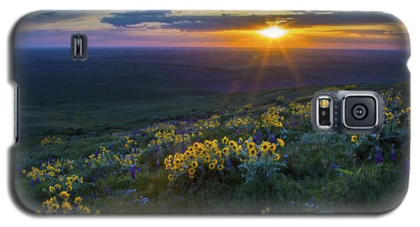 Steptoe Sunset Galaxy S5 Case by Sonya Lang
