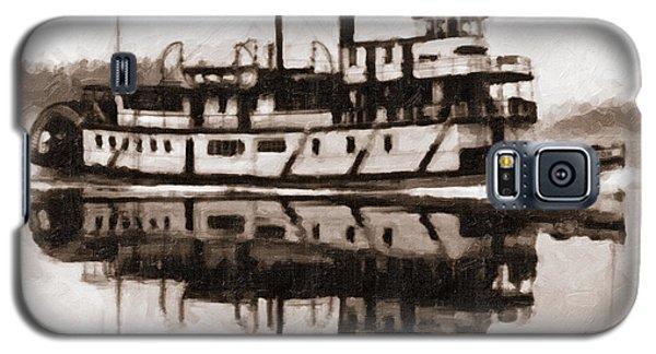 Sternwheeler Sol Simpson 1910 Galaxy S5 Case