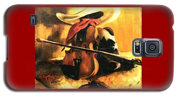 Stetson - Fiddle - Boots  Galaxy S5 Case