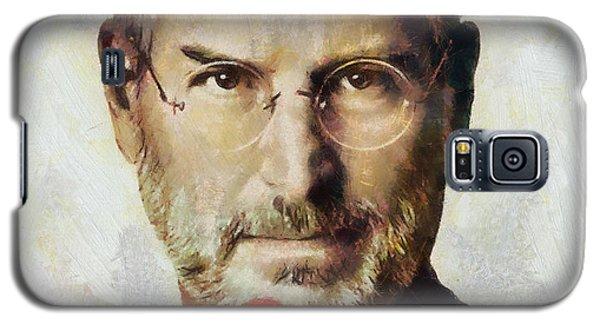Steve Jobs  Galaxy S5 Case by Wayne Pascall