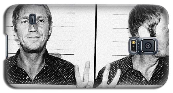 Steve Mcqueen Mugshot Galaxy S5 Case