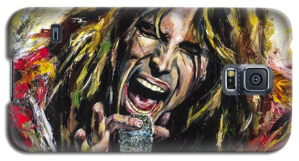 Steven Tyler Galaxy S5 Case - Steven Tyler by Mark Courage