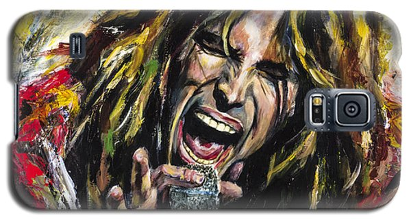 Musicians Galaxy S5 Case - Steven Tyler by Mark Courage