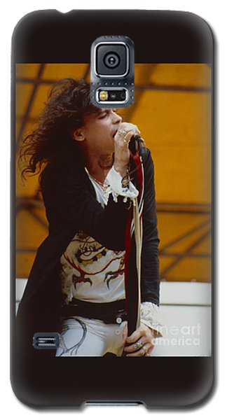 Steven Tyler Of Aerosmith At Monsters Of Rock In Oakland Ca Galaxy S5 Case