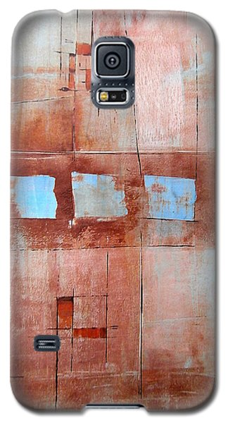Galaxy S5 Case featuring the painting Steven's House by Buck Buchheister