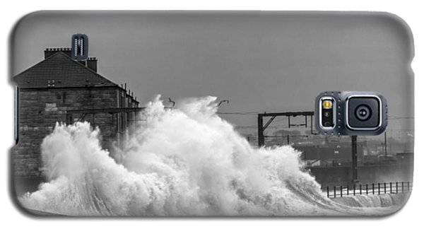 Stevenston Storm Galaxy S5 Case by Fiona Messenger