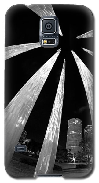 Sticks Of Fire At University Of Tampa Galaxy S5 Case by Daniel Woodrum