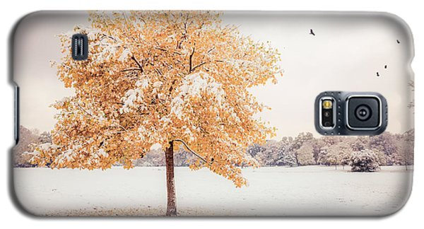 Still Dressed In Fall Galaxy S5 Case