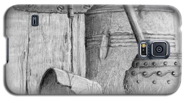 Galaxy S5 Case featuring the drawing Still Life 67 by Jim Hubbard