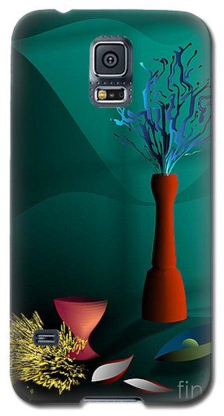 Galaxy S5 Case featuring the digital art Still Life In Studio by Leo Symon