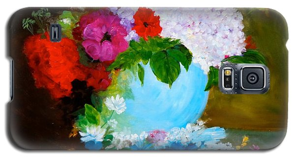 Galaxy S5 Case featuring the painting Still Life by Jenny Lee