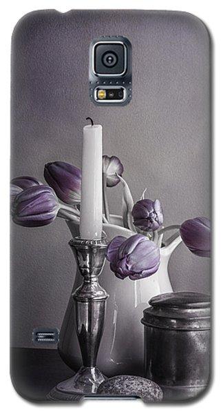 Still Life Study In Purple Galaxy S5 Case