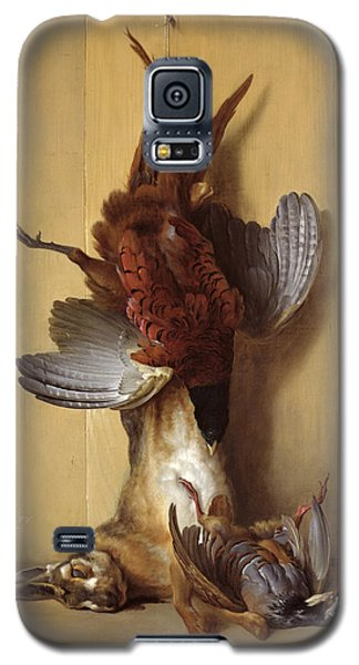 Still Life With A Hare, A Pheasant And A Red Partridge Galaxy S5 Case by Jean-Baptiste Oudry