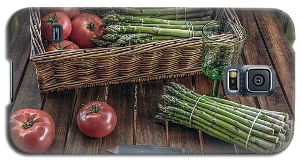 Still Life With Asparagus And Tomatoes Galaxy S5 Case