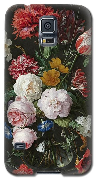 Still Life With Flowers In Glass Vase Galaxy S5 Case