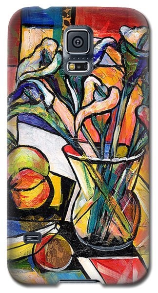 Still Life With Fruit And Calla Lilies Galaxy S5 Case