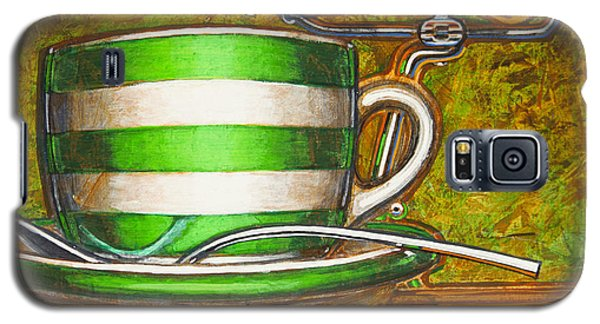 Still Life With Green Stripes And Saddle  Galaxy S5 Case