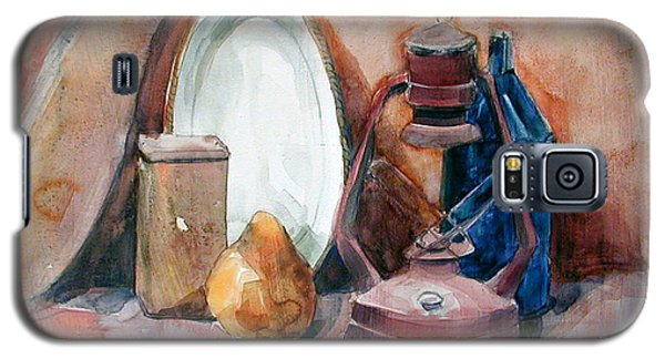 Still Life With Miners Lamp Galaxy S5 Case by Greta Corens