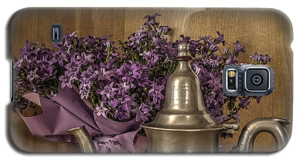 Still Life With Purple Flowers And Citron Galaxy S5 Case