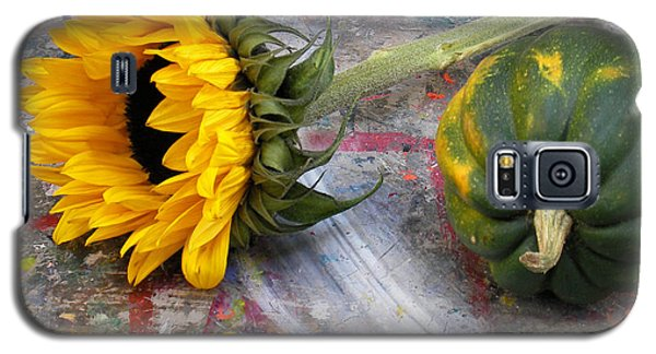 Still Life With Sunflower Galaxy S5 Case