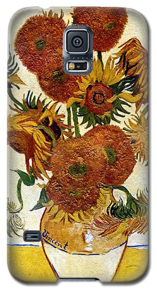 Still Life With Sunflowers Galaxy S5 Case