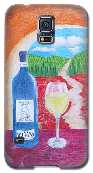 Tuscan Wine Galaxy S5 Case