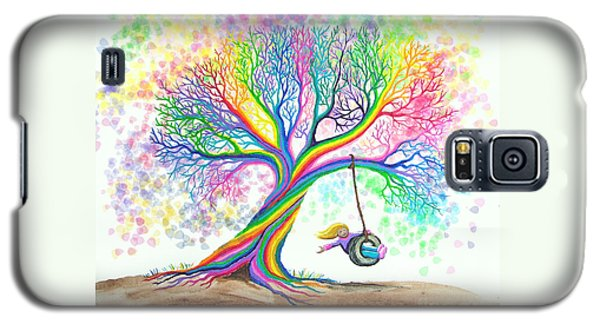 Still More Rainbow Tree Dreams Galaxy S5 Case