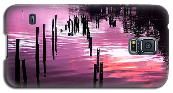 Galaxy S5 Case featuring the photograph Still Water Dusk 2 by Wallaroo Images