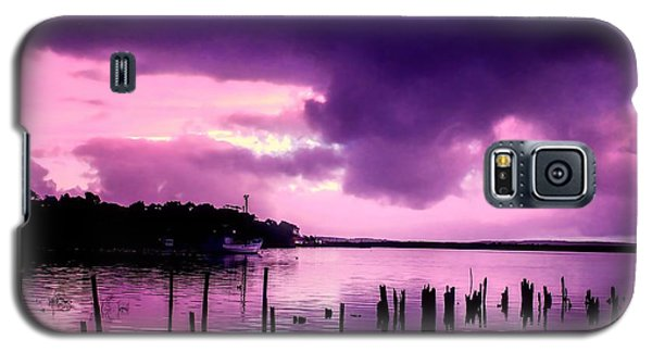 Galaxy S5 Case featuring the photograph Still Water Dusk by Wallaroo Images