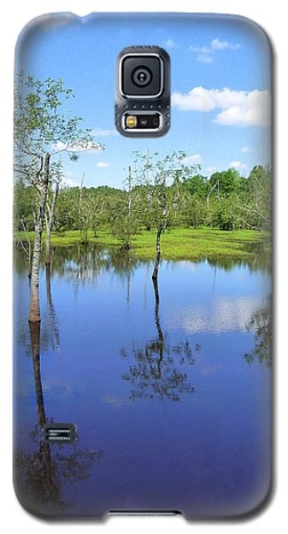 Galaxy S5 Case featuring the photograph Still Waters by Jim Whalen