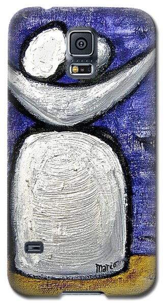Galaxy S5 Case featuring the painting Stills 10-002 by Mario Perron