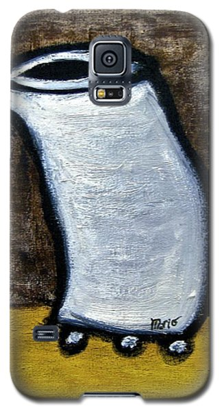 Galaxy S5 Case featuring the painting Stills 10-003 by Mario Perron