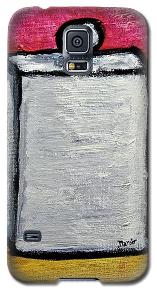 Galaxy S5 Case featuring the painting Stills 10-004 by Mario Perron