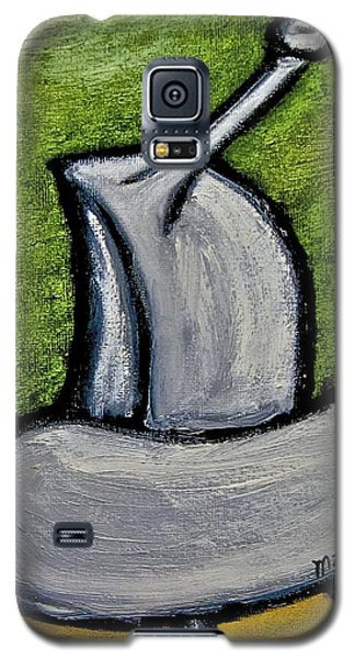 Galaxy S5 Case featuring the painting Stills 10-005 by Mario Perron