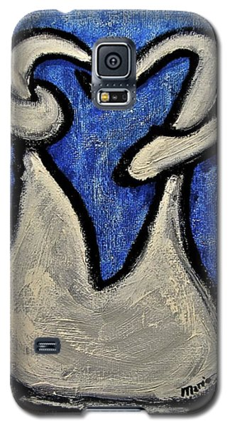 Galaxy S5 Case featuring the painting Stills 10-006 by Mario Perron