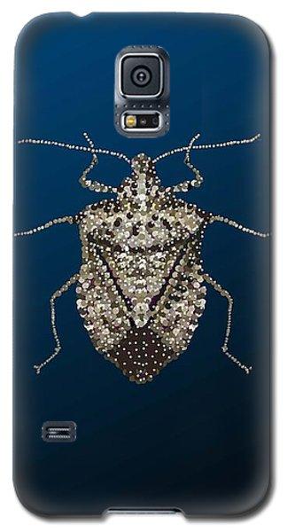 Galaxy S5 Case featuring the digital art Stink Bug I Phone Case by R  Allen Swezey