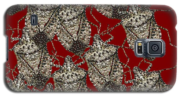 Stink Bugs Bedazzled Galaxy S5 Case by R  Allen Swezey