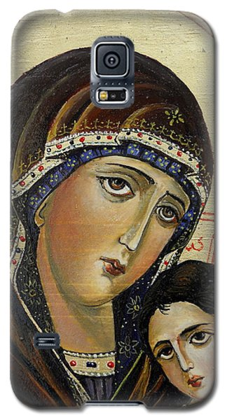 St.mary With  Jessus  Galaxy S5 Case